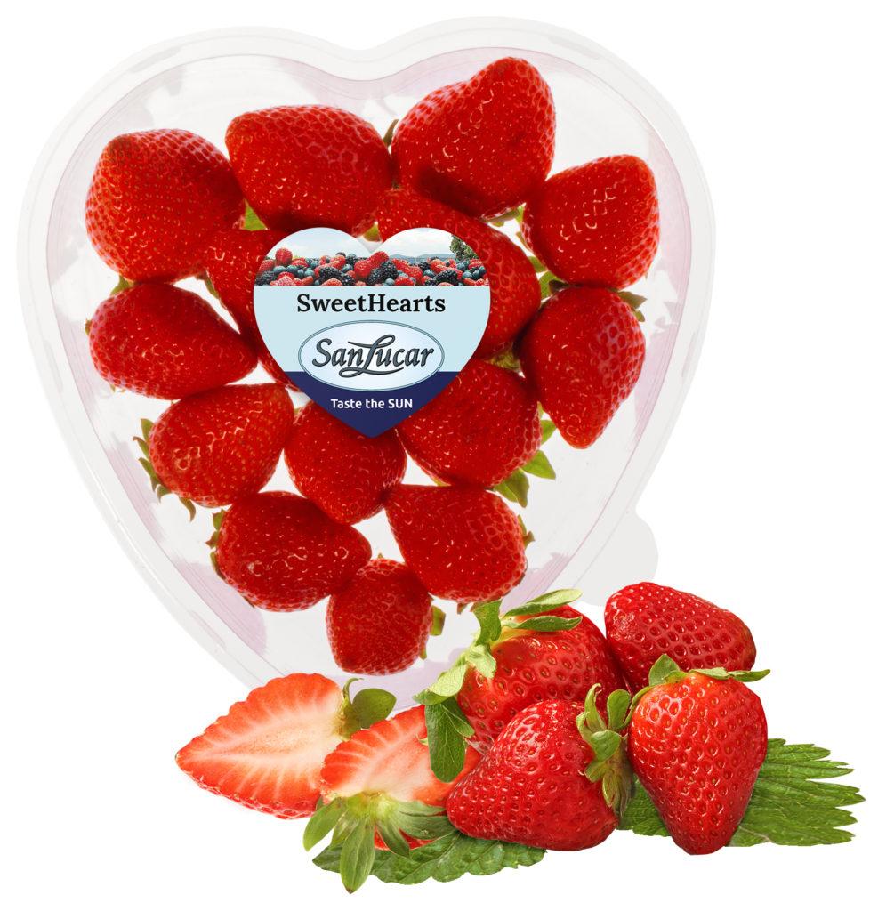 Love Tastes So Sweet Sanlucar Strawberries In A Heart Shaped